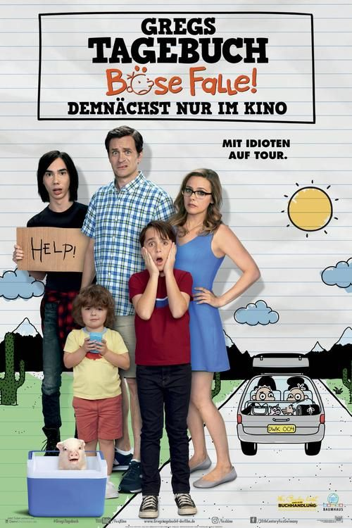 Diary of a Wimpy Kid: The Long Haul (2017) Full Movie Streaming HD