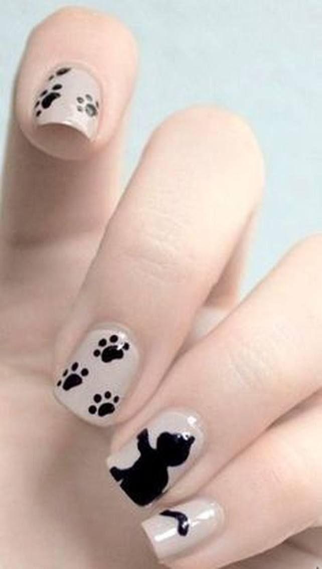Manicura animal lover