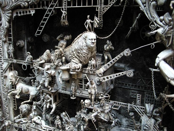 Kris Kuksi, an absolutely amazing artist!