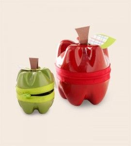 Recycled Soda Bottle Craft  If you're sending your kids back to school (or are giving away back-to-school favors), these plastic bottle apple containers would make the perfect gift (filled with something sweet, of course). And it's seriously a great way to recycle some soda bottles.