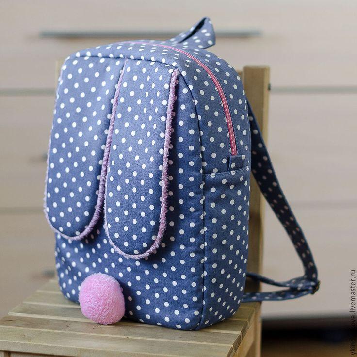 """""""Bunny"""" backpack / Купить Рюкзак """"Bunny"""" - рюкзак, рюкзак для девочки, заяц, кролик, сумка ручной работы, подарок"""