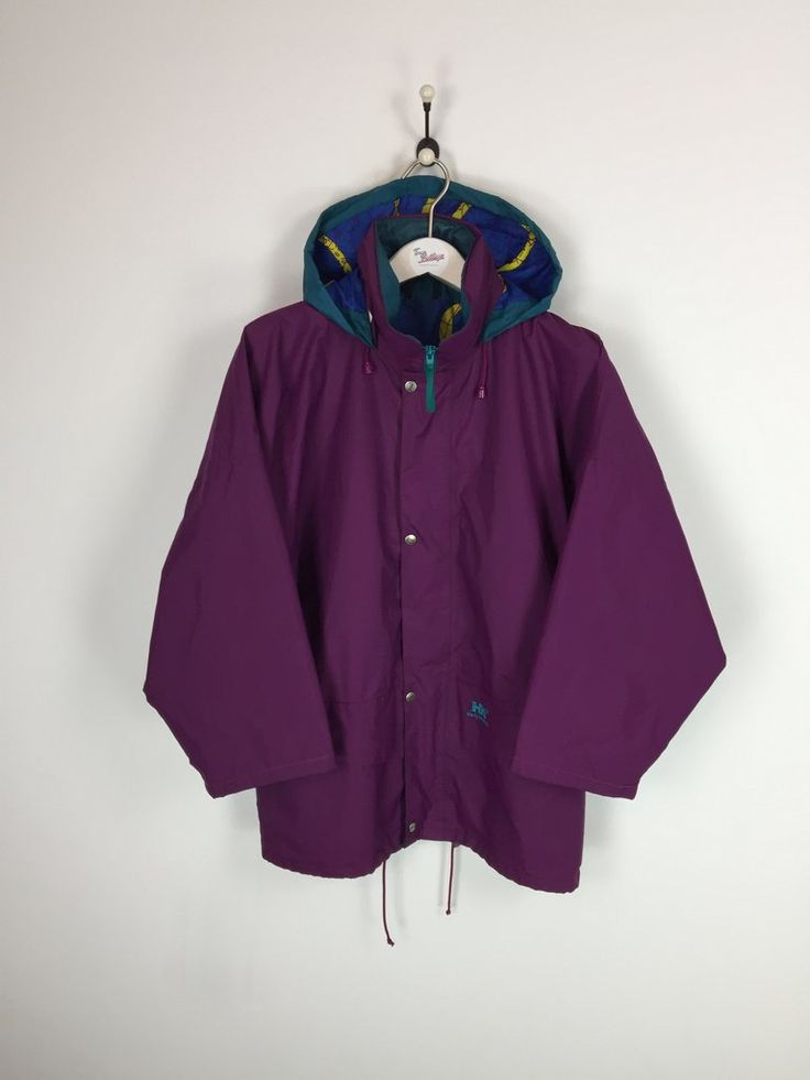 Helly Hansen Jacket Purple Medium