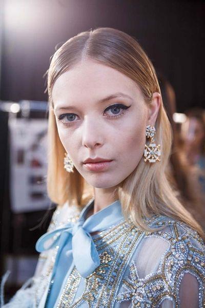 Elie Saab İlkbahar 2017 Couture Güzellik Detayları - InStyle Türkiye