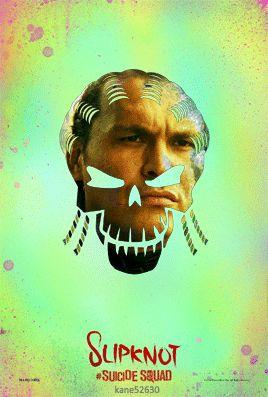 Suicide Squad Slipknot GIF Poster