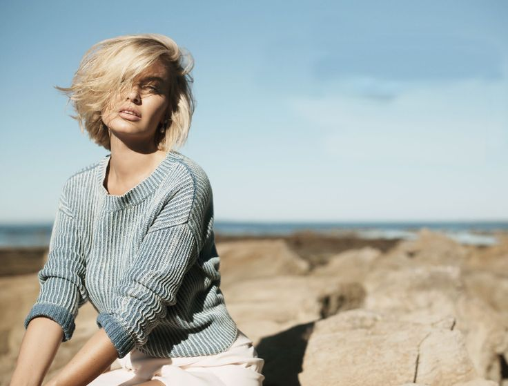 Citizen Hems - Lara Bingle, Elle Magazine 1