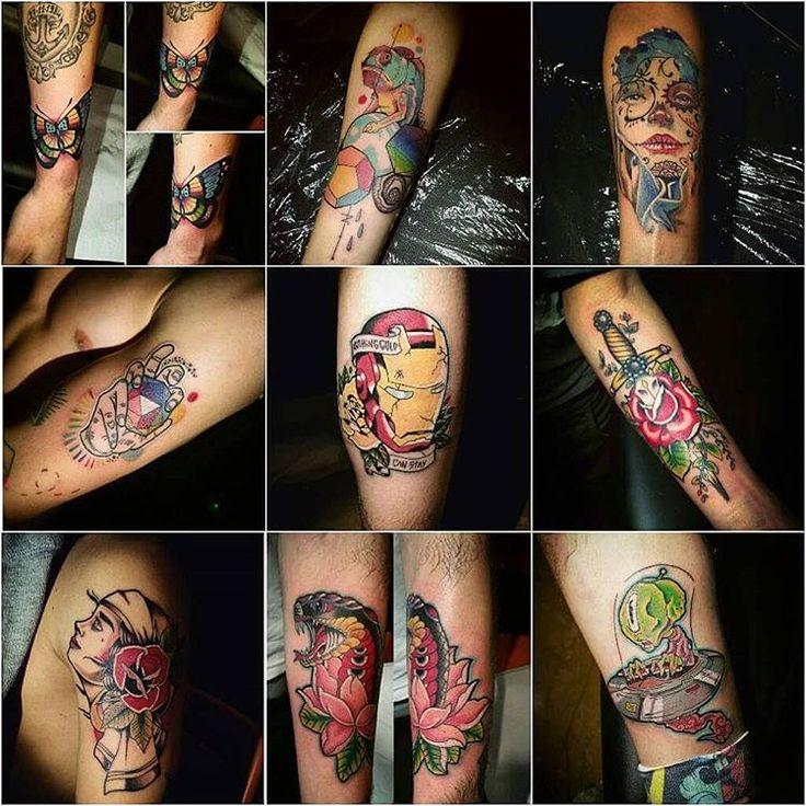 Un po di storia 💖❤💙💜💛💚 #zerosei #tattoo #roma #tatuaggio #gabriele #perroni