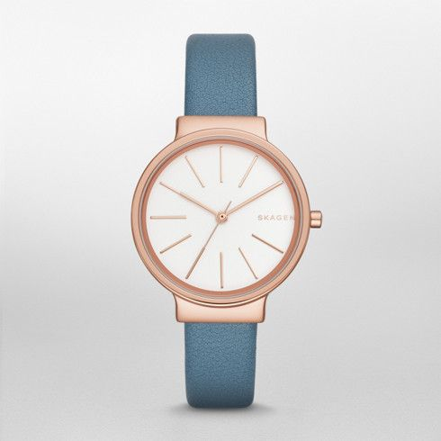 Ancher Leather Watch | SKAGEN® | Free Shipping