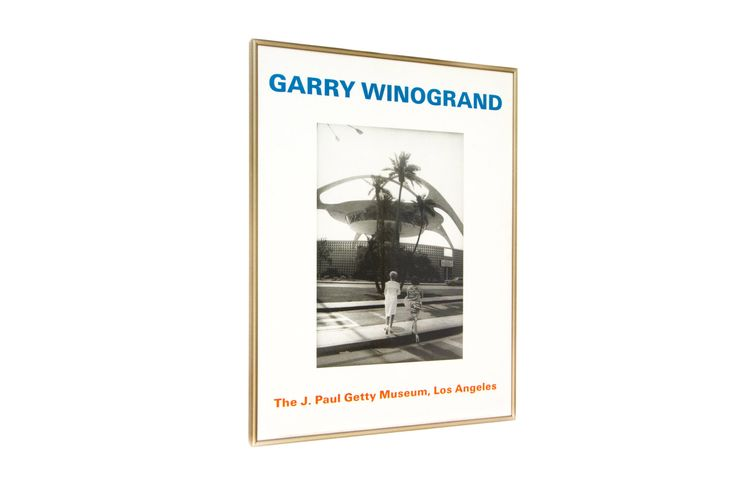 Garry Winogrand, The J Paul Getty Museum, Los Angeles, Framed Gallery Print by EMOharra on Etsy https://www.etsy.com/listing/452883584/garry-winogrand-the-j-paul-getty-museum