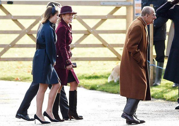 The Royal Family Attended Christmas Eve Carol Service