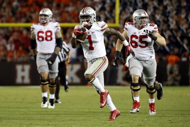 College Football Rankings: Bleacher Report's Week 2 Top  25.  OHIO STATE #1