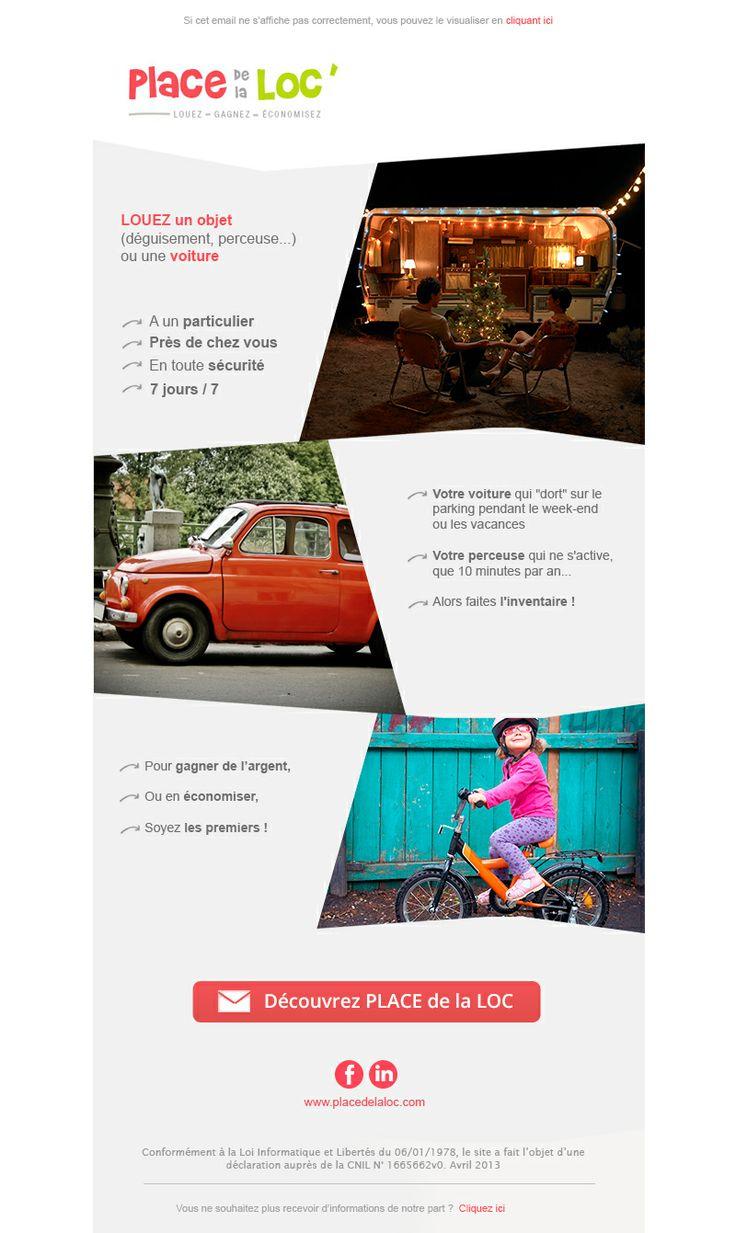 www.PLACEdelaLOC.com, le 1er et seul site de location de voitures, location de camping-car, location de parkings, location d'objets (outils, appareils photo, remorque, coffre de toit, puériculture, sono, gopro ...) entre PARTICULIERS exclusivement, 100% assuré !