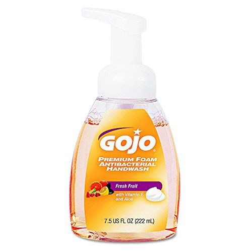 Gojo 571006ct Premium Foam Antibacterial Hand Wash Fresh Fruit