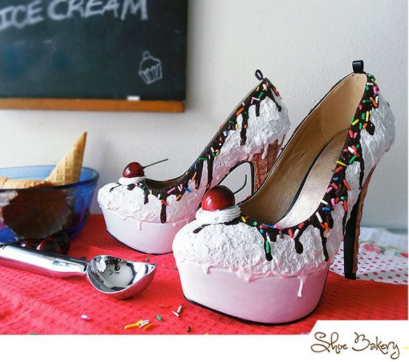 These Cake and Ice Cream Shoes Look Good Enough to Eat