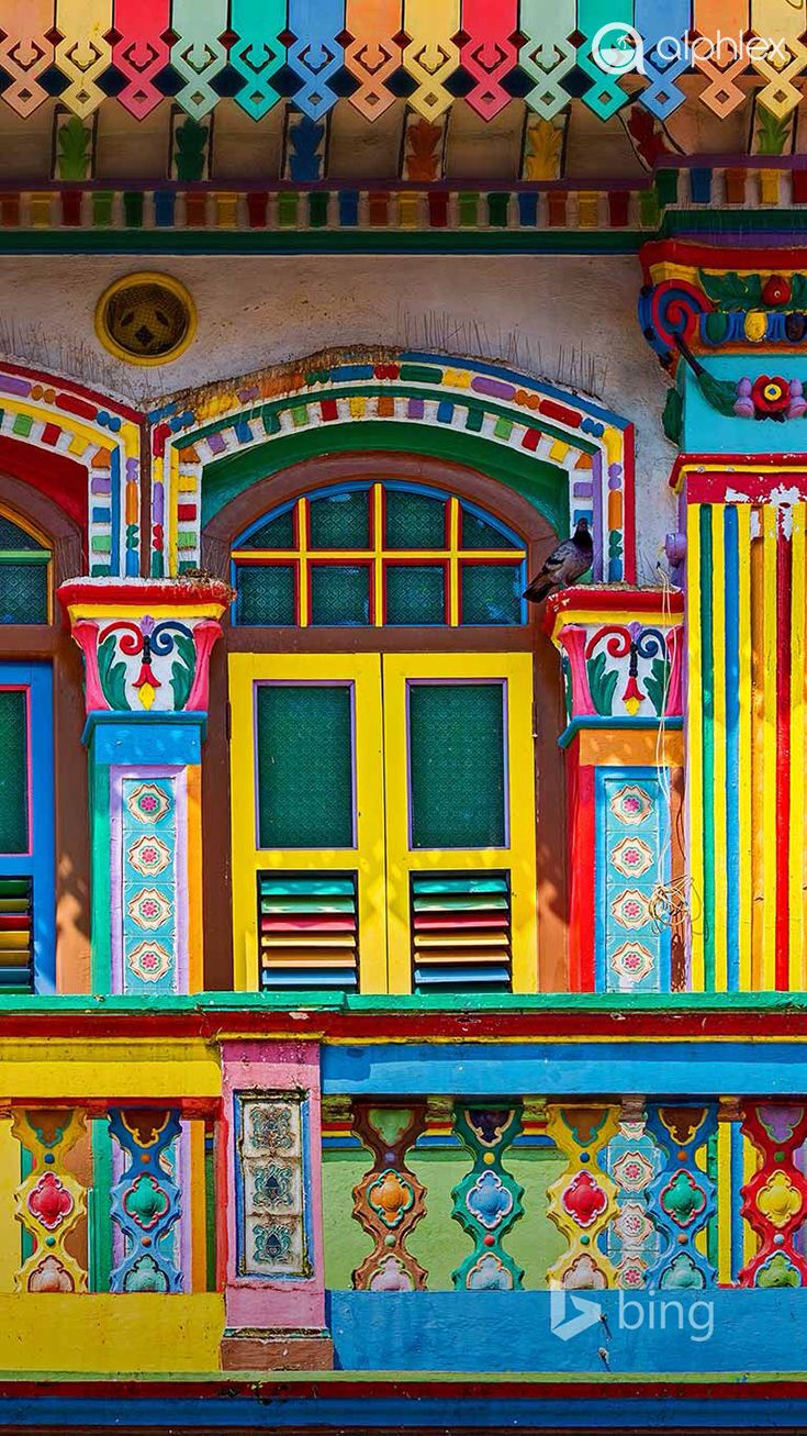 Stand Up For Travel And Hold The Door Open Beautiful Doors Colourful Buildings Colorful Places