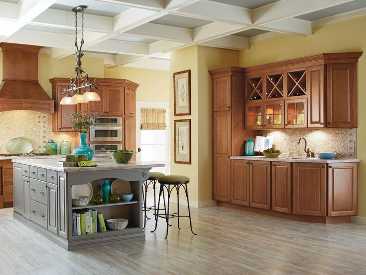 Charming Interior Kitchen Design With Schrock Cabinets Innovative Schrock Cabinets For Storage Solutions