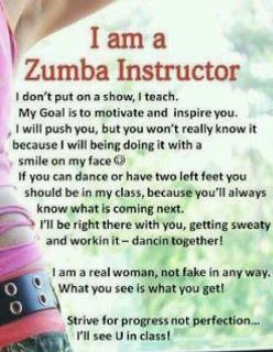 Yes! I am a ZUMBA Instructor! ;)