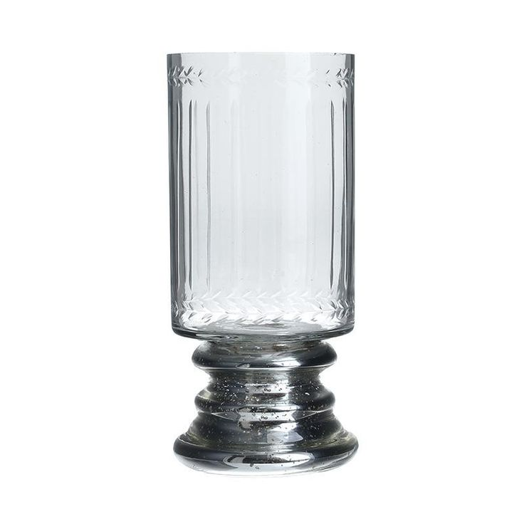 Glass Candle Holder - inart
