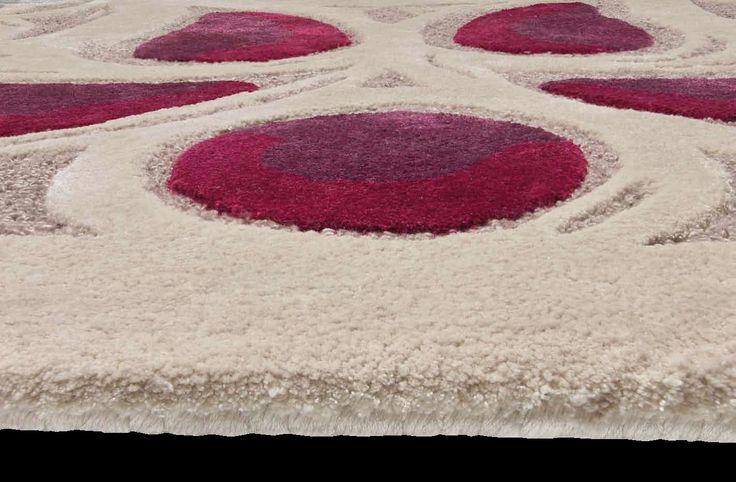tappeto bianco nero beige colorato grigio grande geometrico lavabile moderno morbido misura sintetico texture rotondo