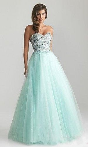 Light turquoise prom dress fashion blue dress light pretty beads prom pastel sequins formal long flowing
