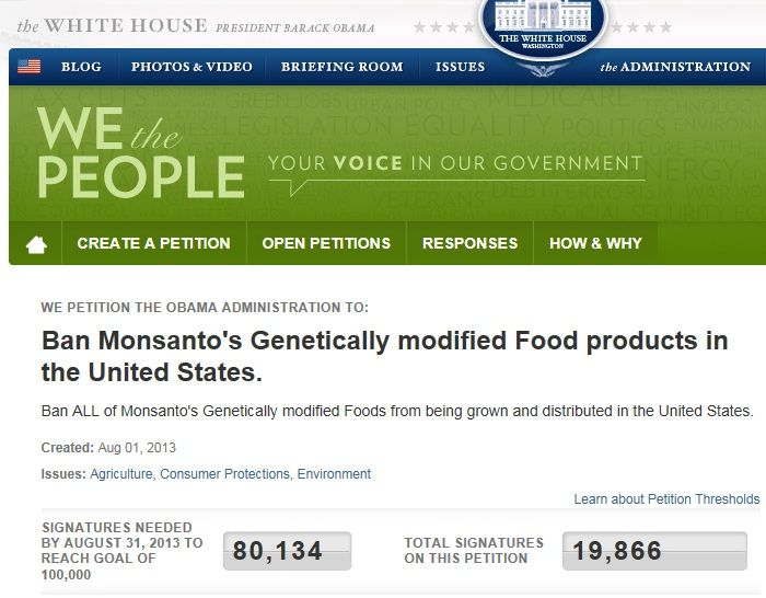 Petition To Ban Gmos In The United States Please Sign It Now