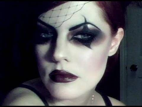 Halloween Series: Victorian Gothic  Circus Makeup Tutorial