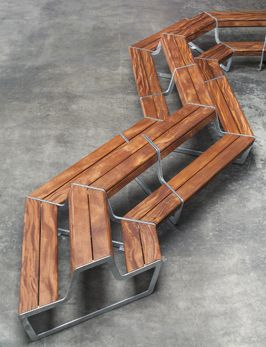 Veksø 'Link' Bench | Design by AART Architects