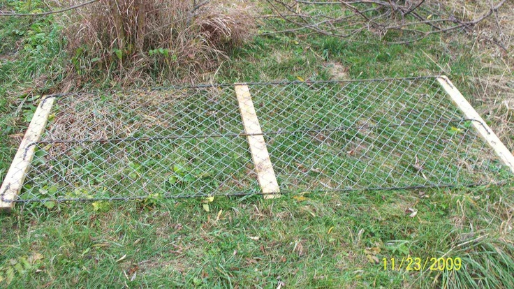 homemade portable fence panel link seems to have disappeared build