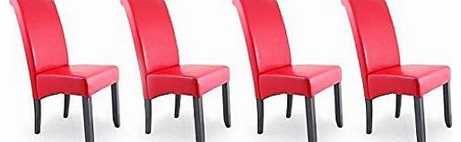 Sue Ryder Contemporary Faux Leather Dining Room Chair - Red - Set Of 4 No description (Barcode EAN = 0701936653314). http://www.comparestoreprices.co.uk/leather-dining-chair/sue-ryder-contemporary-faux-leather-dining-room-chair--red--set-of-4.asp
