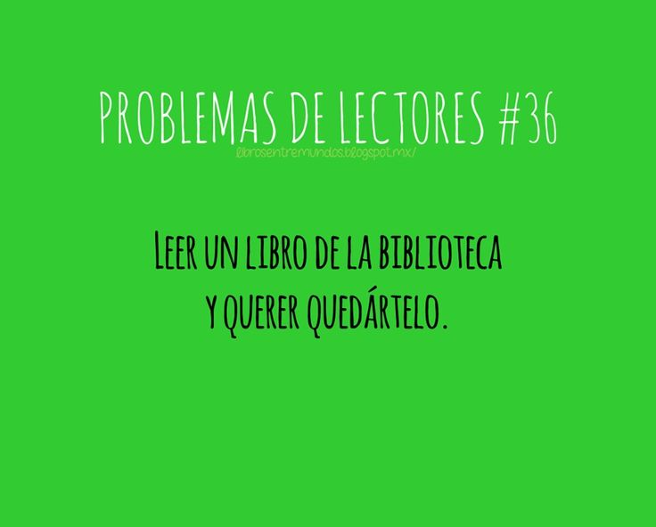 Problemas de Lectores #36