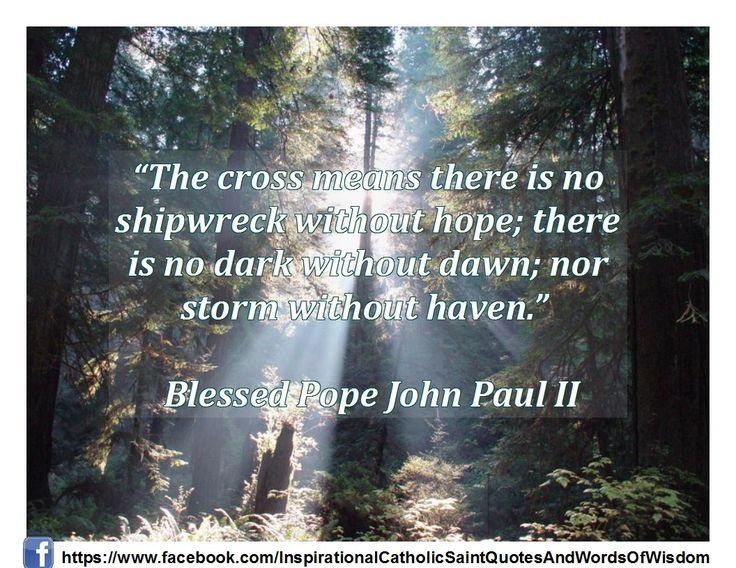 Quotes From Pope John Paul Ii: 33 Best Images About Catholic Quotes On Pinterest