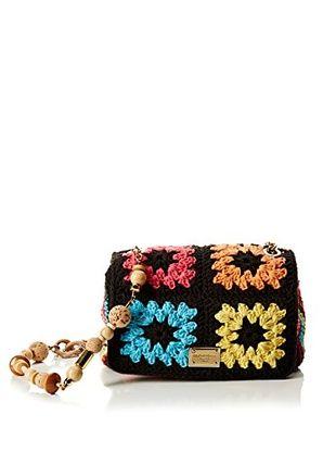Dolce & Gabbana Bandolera (Negro / Multicolor)