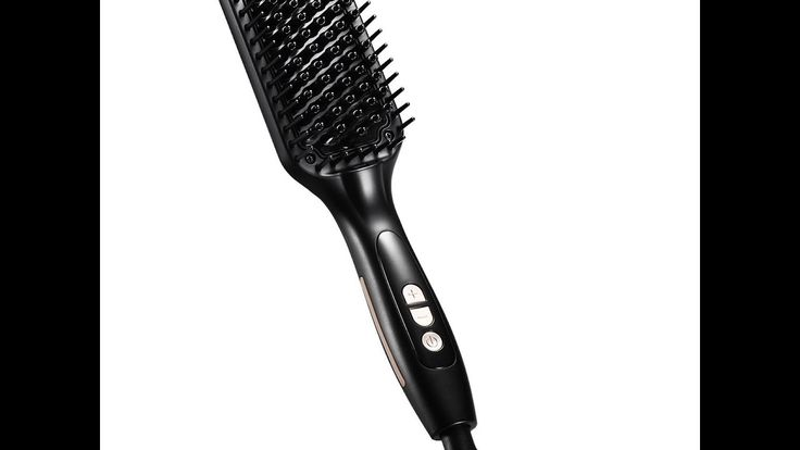 beauty hair straightner brush