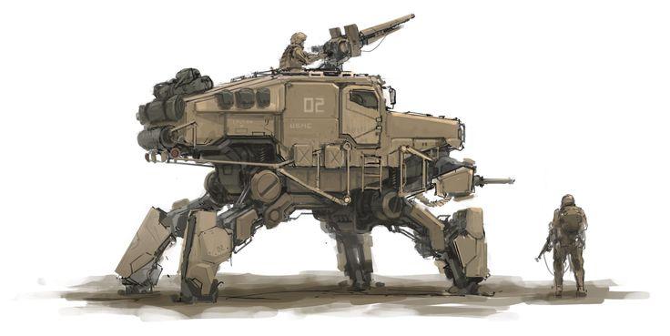 concept maquinas de combate