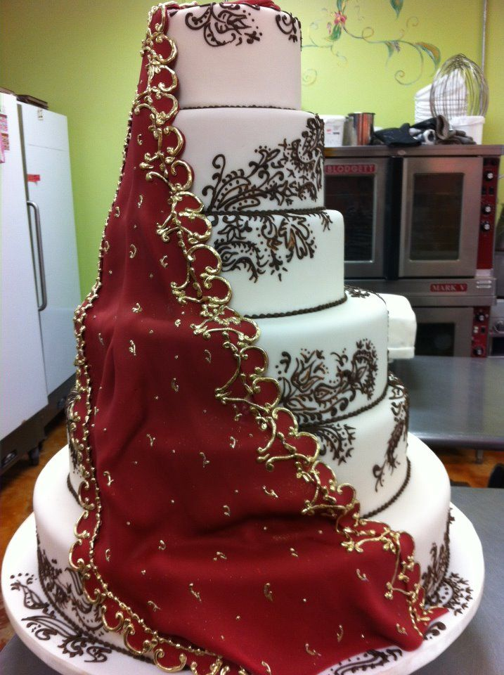 25 Best Ideas About Henna Wedding Cake On Pinterest