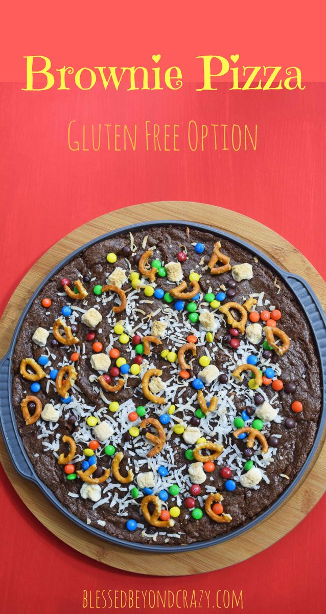 gluten free option perfect for topping with halloween candy blessedbeyondcrazy - What Halloween Candy Is Gluten Free