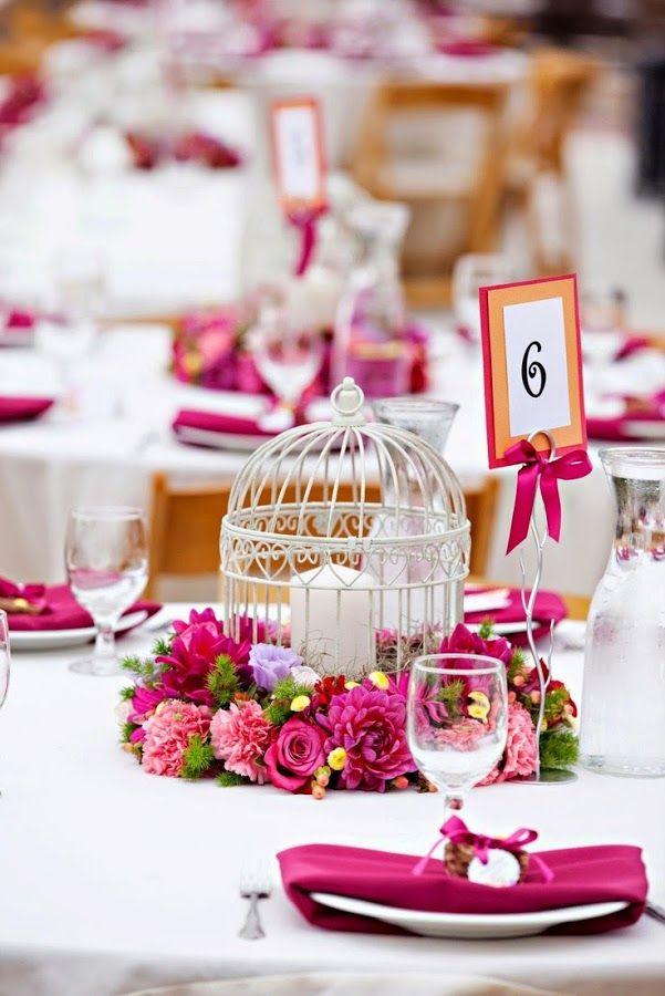 Centros de mesa para boda: ¡ideas que inspiran!   Bodas