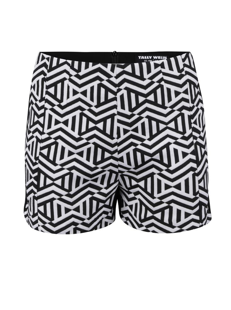 Pantaloni scurți TALLY WEiJL cu model geometric - Tally Weijl