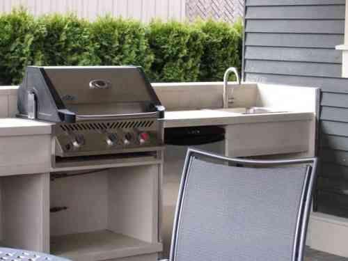 Barbecue extérieur dans votre espace  lu0027idée vous tente - beton cellulaire exterieur barbecue