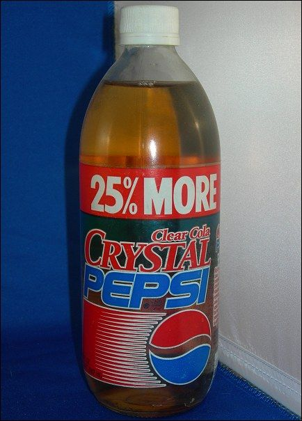 why blue pepsi failed Why crystal pepsi and others failed we live in a day and age where marketing and advertising is stronger then ever it is essentially in our face every where we turn, from the clothes we wear to the music we listen to and even the device we use to listen to our music.