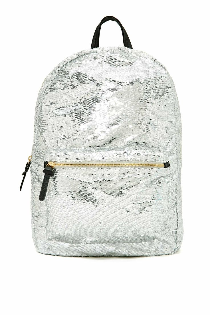 7 Chi Glitterati Sequin Backpack | Shop Sale at Nasty Gal