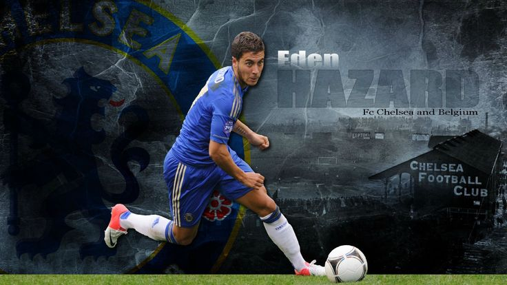 chelsea player hazard wallpaper