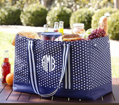 Perfect Picnic Bag for KY tailgates or Keeneland.