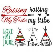 Love My Tribe Svg Cuttable Designs