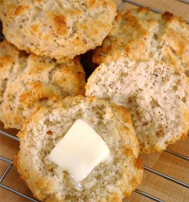 Drop Biscuits, gluten free by Pamela's products. You won't believe these (or any of the things you make from her products) are gluten free!