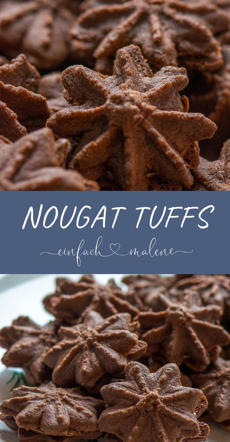 Nougat Tuffs – die besten Nutella Weihnachtskekse,…
