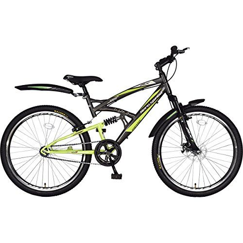 Hero RX1 26T Arjun Kapoor Limited Edition Single Speed Cycle with Disc Brake - Gray & Green