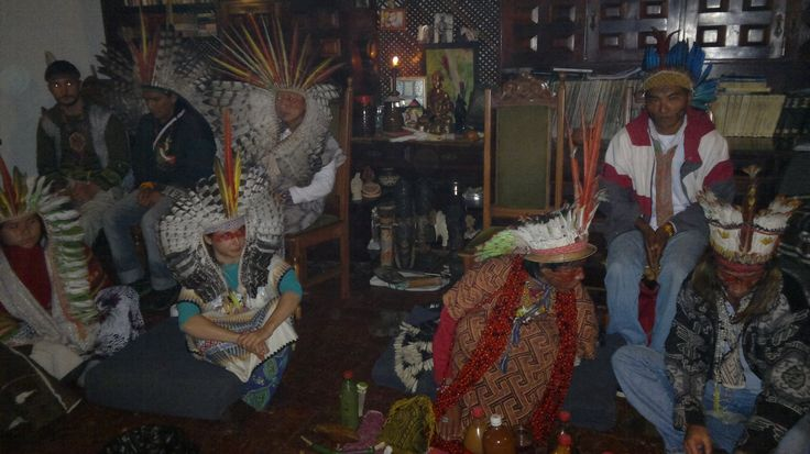 Cerimônia Nixi Pae - Yawanawá e Huni Kuin - Chácara da Zankara