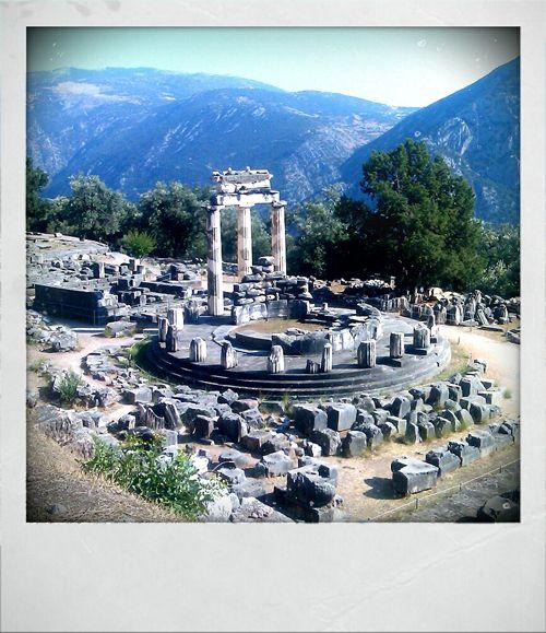 Delfoi, Greece