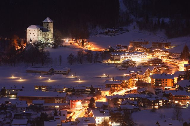 Kaprun at Night