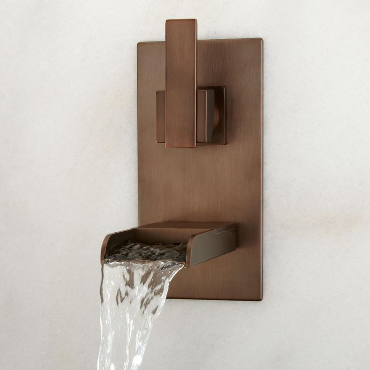Bathroom Faucet From Wall best 25+ midcentury bathroom sink faucets ideas on pinterest